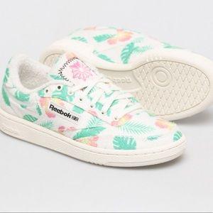 REEBOK   Club C 85 Floral Sneakers